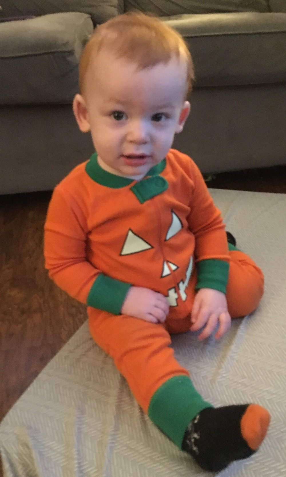 Joshua's first Halloween