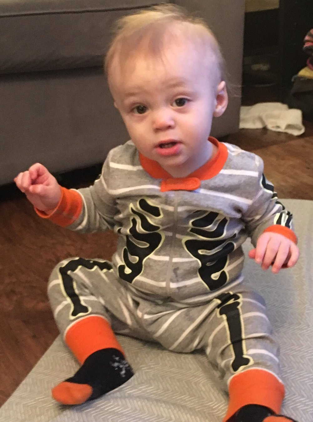 Julian's first Halloween