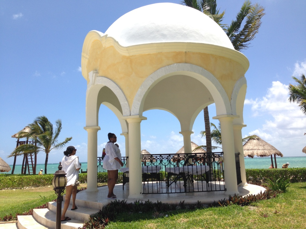 04/2014 Gazebo in Cancun