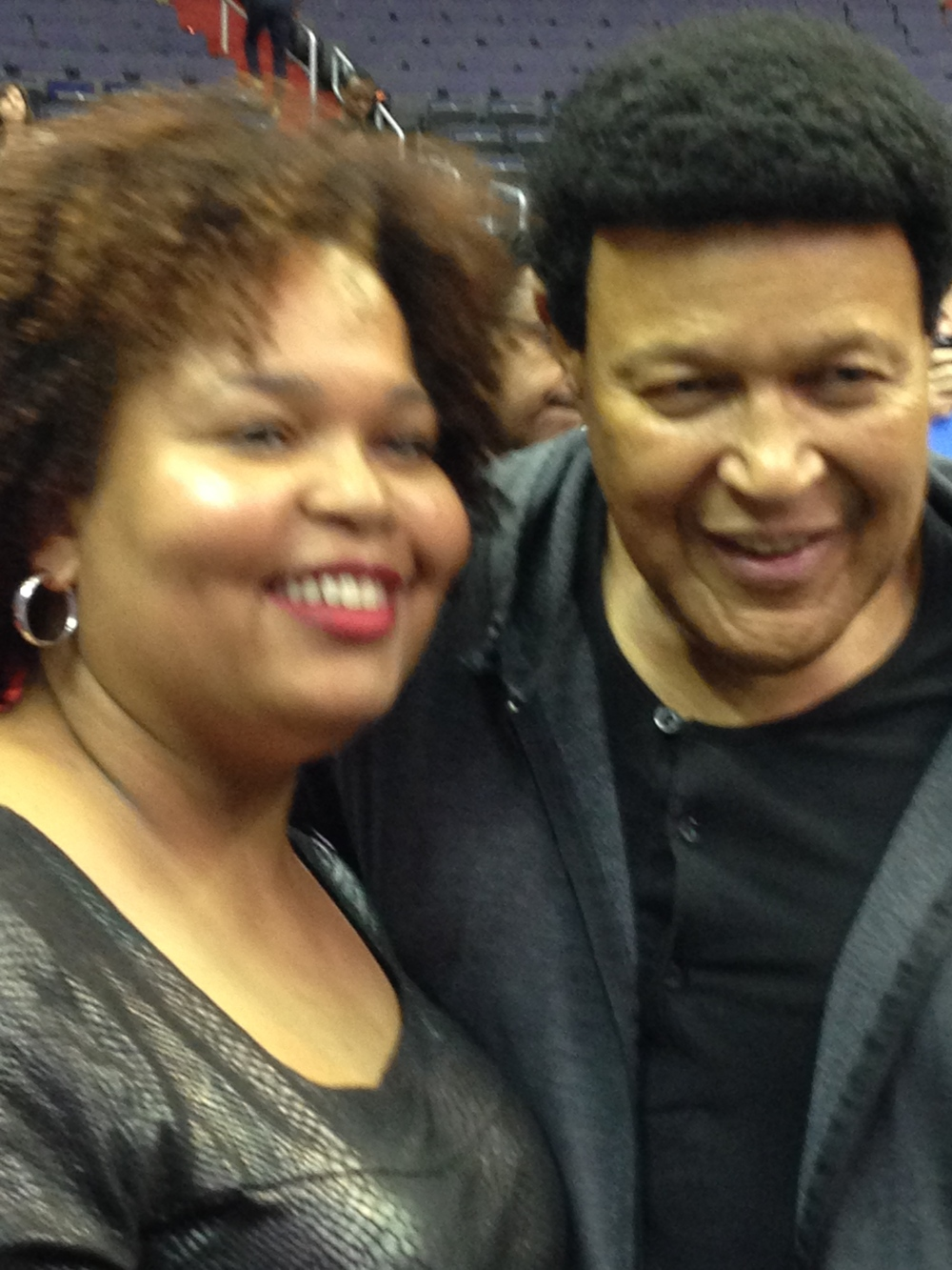 Chubby Checker at the Games