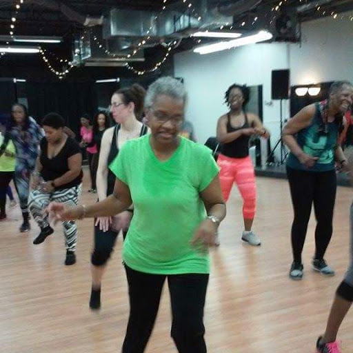Jennie working up a sweat in Zumba class. Choose an activity you love and a friend to enjoy it with. You're much more likely to stick with it.