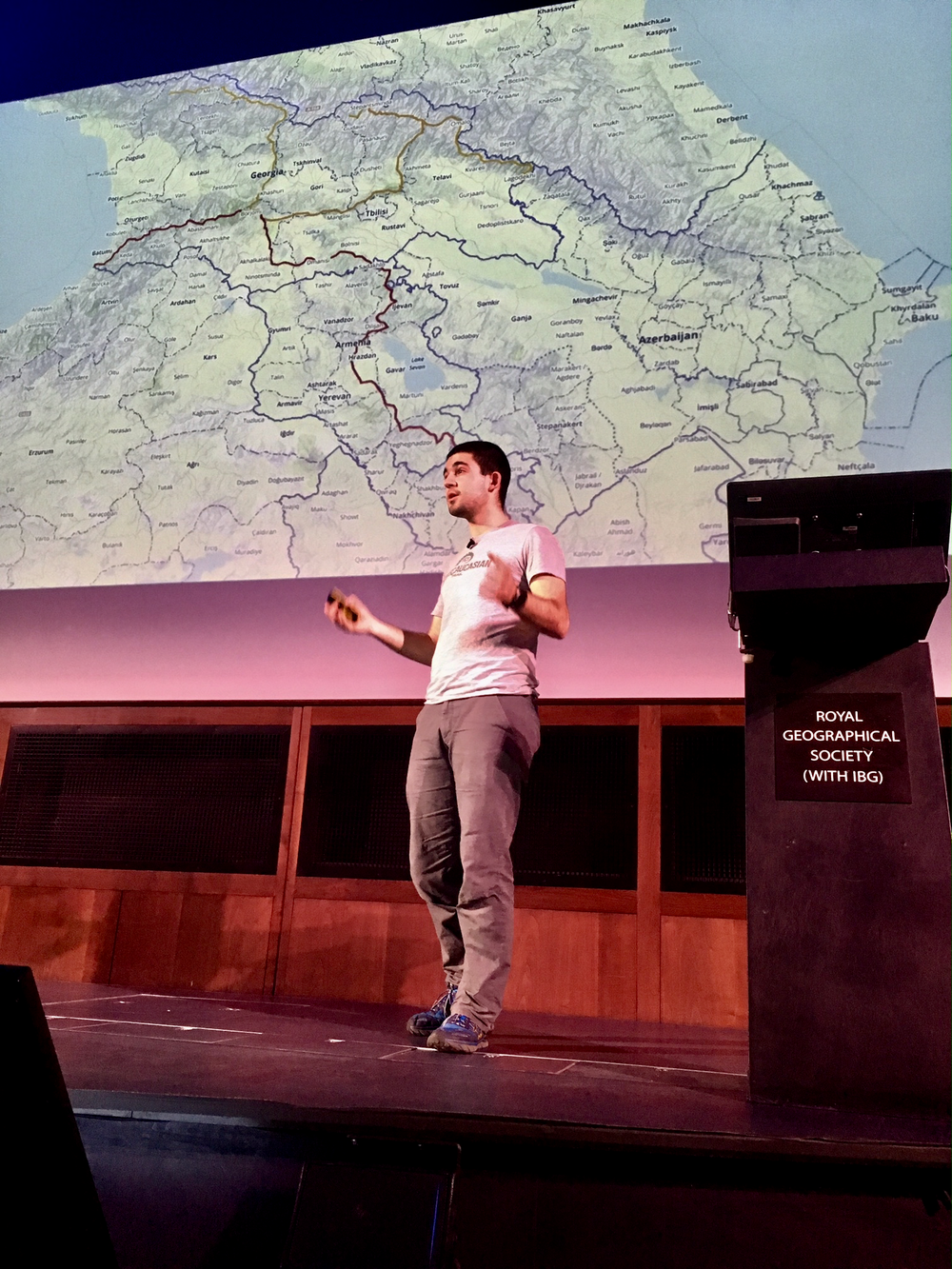 Royal Geographical Society: Microlectures - Seeking Solitude, Finding Solidarity: On foot through the Caucasus