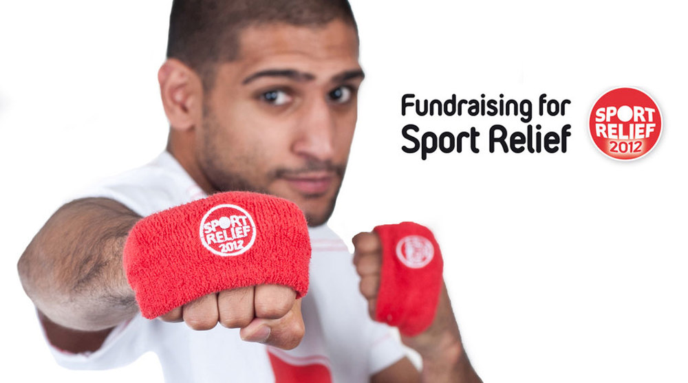 Official Sports Logos Official Sport Relief 2012