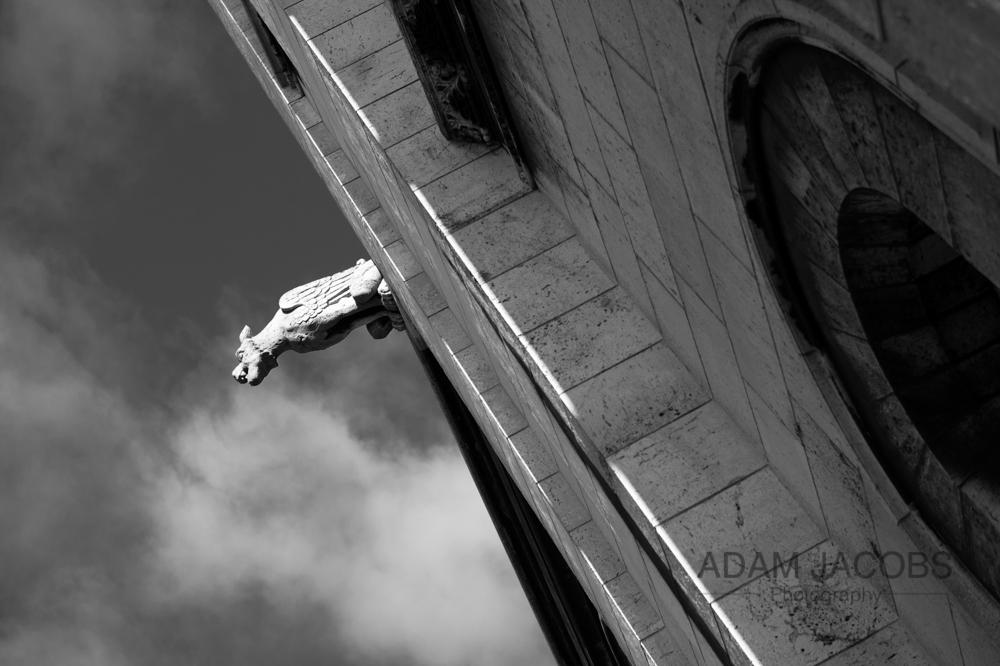 Sacre Coeur Gargoyle Paris