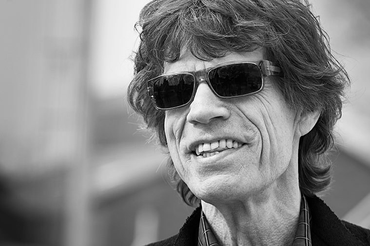 Sir Mick Jagger Portrait_Adam Jacobs Photography