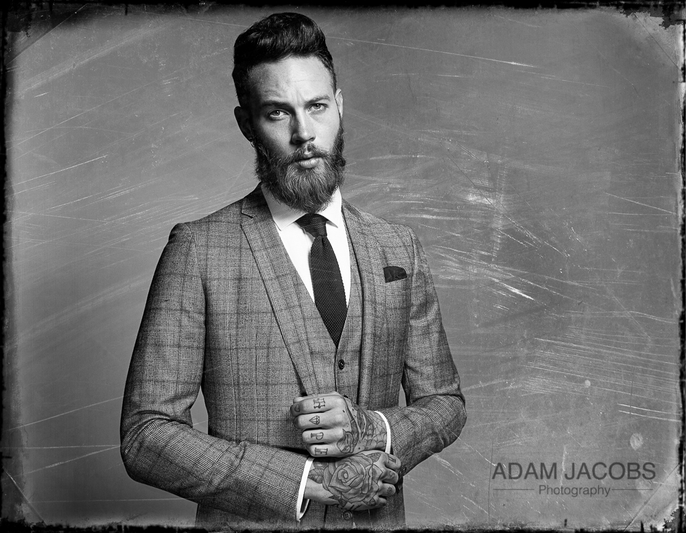 Adam Jacobs Photography_Billy Huxley Model Suit Moss Bros