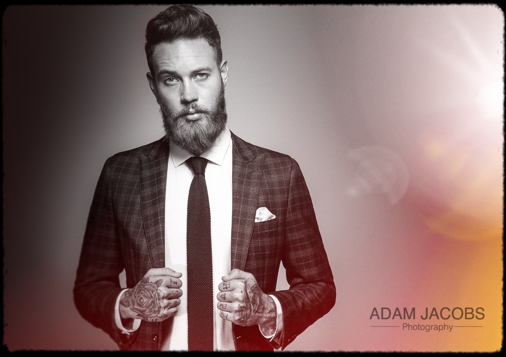 Adam Jacobs Photography_Billy Huxley Model Suit Moss Bros 2