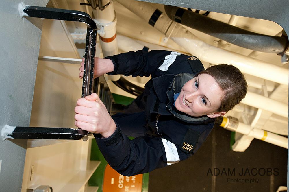 Adam Jacobs Royal Navy Photo Portrait 3