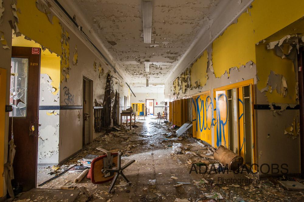 Adam Jacobs Abandoned School Art Photography 1