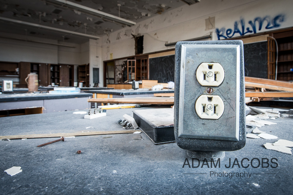 Adam Jacobs Abandoned School Art Photography 2