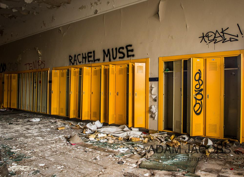 Adam Jacobs Abandoned School Art Photography 3