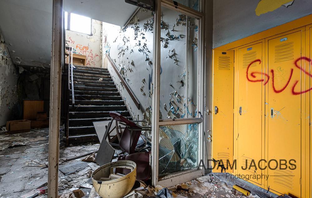 Adam Jacobs Abandoned School Art Photography 6