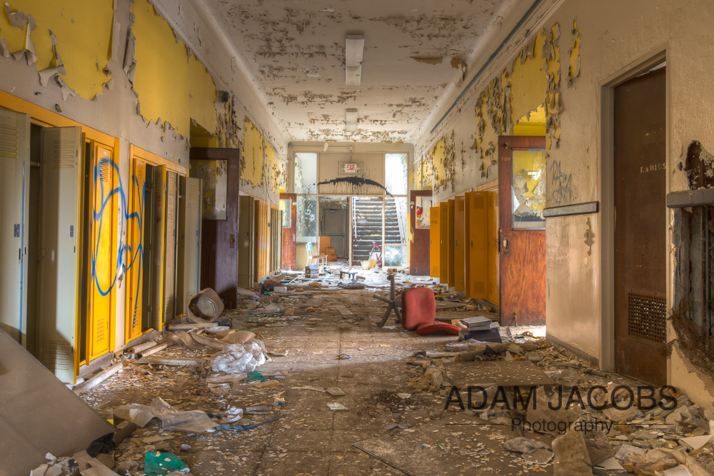 Adam Jacobs Abandoned School Art Photography 8