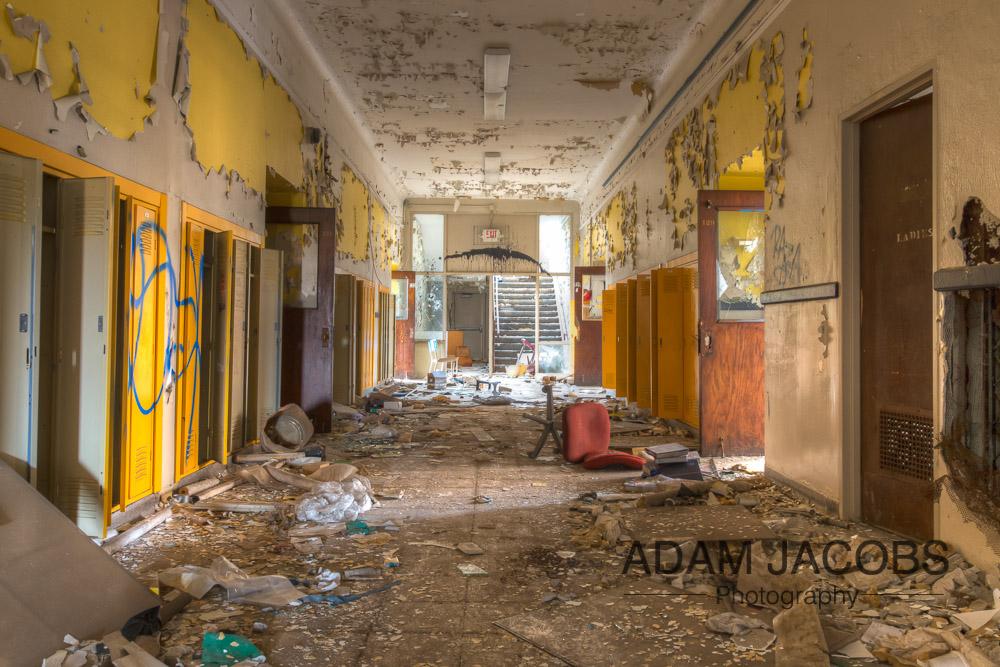 Adam Jacobs Abandoned School Art Photography 8