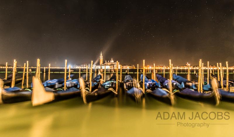 Adam Jacobs Photography Venice Gondola Landscape Picture Italy Travel 1