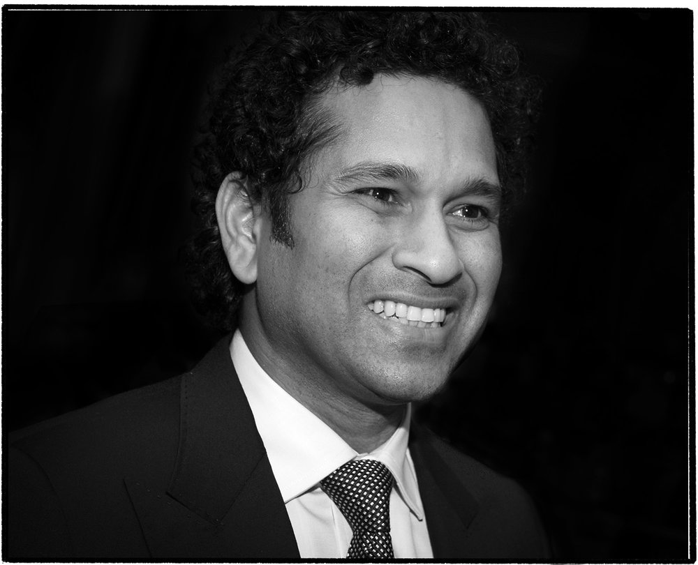 Sachin Tendulkar Portrait_Adam Jacobs Photography