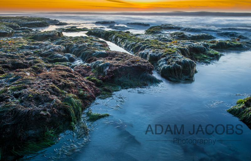 La Jolla Tidal Pools Adam Jacobs Photography Landscapes For Sale Sunset 2