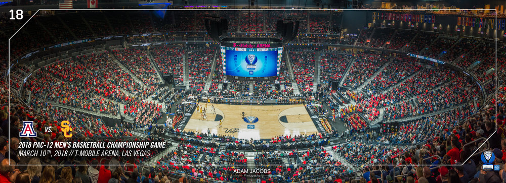 Adam Jacobs Photography, Pac 12, Mens Basketball, Tournament, Las Vegas, T Mobile, Hoops, March Madness, Arena, Stadium, Arizona, USC 2