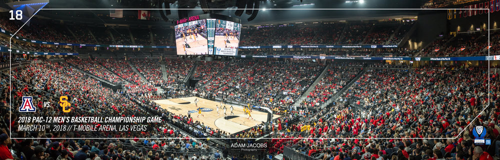 Adam Jacobs Photography, Pac 12, Mens Basketball, Tournament, Las Vegas, T Mobile, Hoops, March Madness, Arena, Stadium, Arizona, USC 6