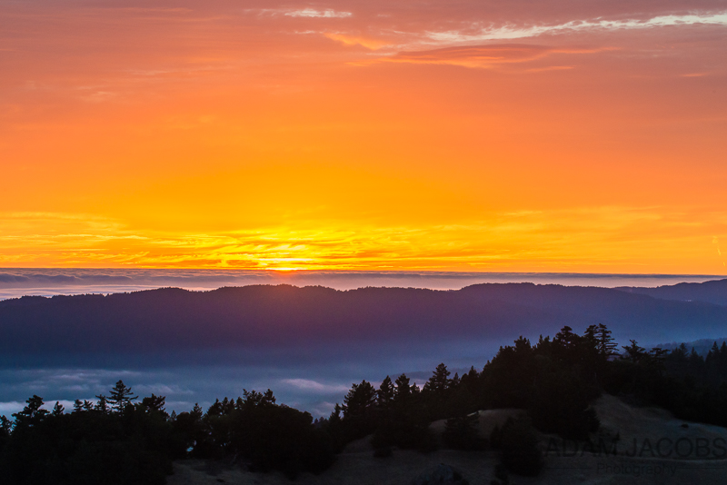 Adam Jacobs Photography Sunset San Francisco Mount Tam Photography Workshops Classes Landscape Fine Art 2
