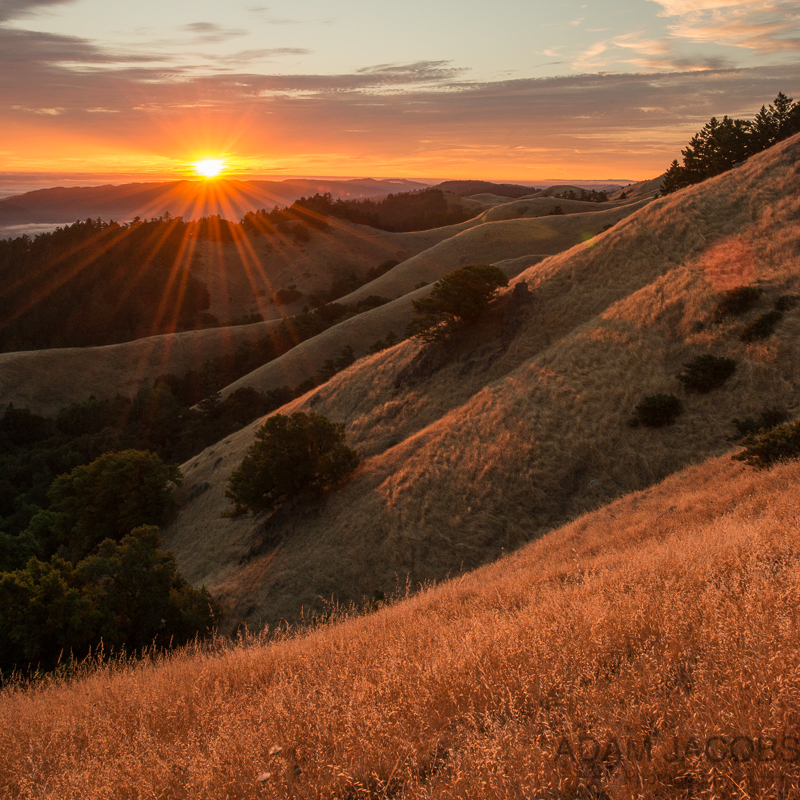 Adam Jacobs Photography Sunset San Francisco Mount Tam Photography Workshops Classes Landscape Fine Art 3