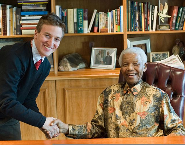 Today marks the 100th anniversary of the birth of #nelsonmandela. I still can't quite believe I was fortunate enough to meet and photograph such an icon. Definite career highlight to date