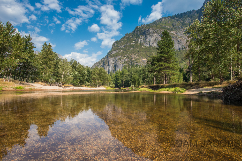 Yosemite National Park Reflections Landscape Photograph