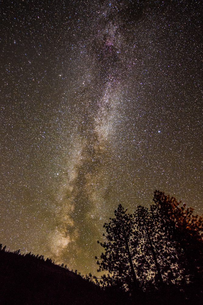 Milky Way Yosemite National Park