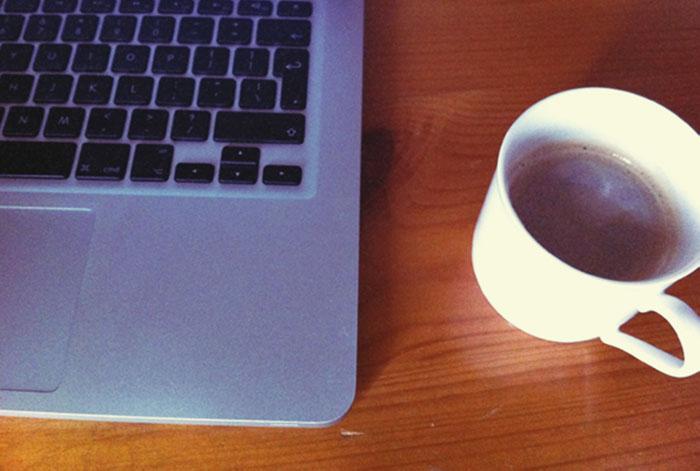 Coffee, Typing, Tweeting