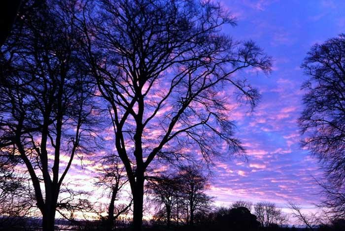 Winter Sunrise in Cork, Ireland | Cloudberry Lane