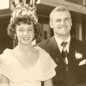 Darlyne Abelman Hudson & Robert Reider (1950)