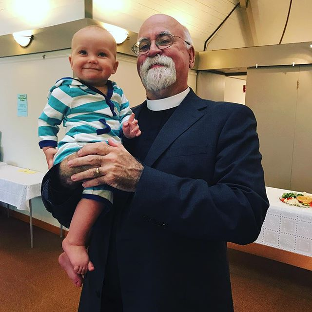 Father Rob's 301st Baptism! If you would like your baby to be 302, give us a call! #baptized #301 #whosnext #bethanyconnecticut