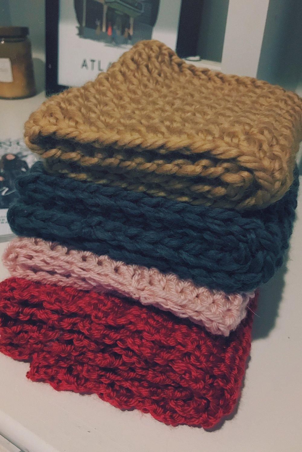 chunky scarves