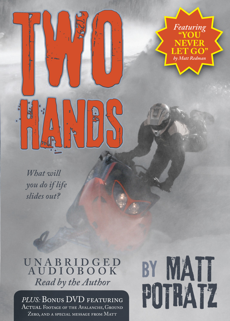 Two Hands Audiobook with Bonus DVD