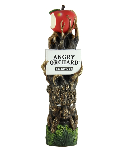 Here is the finished product for the Angry Orchard Cider tap handle.