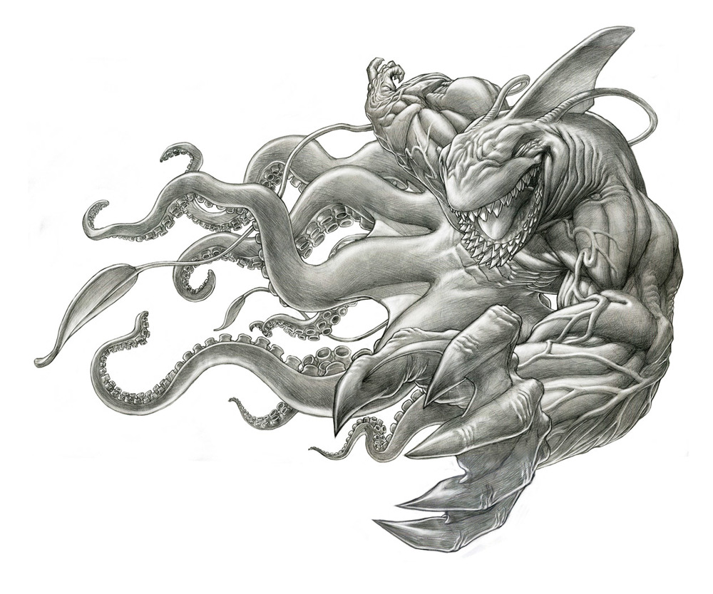 The Bibrachial Sharktopus