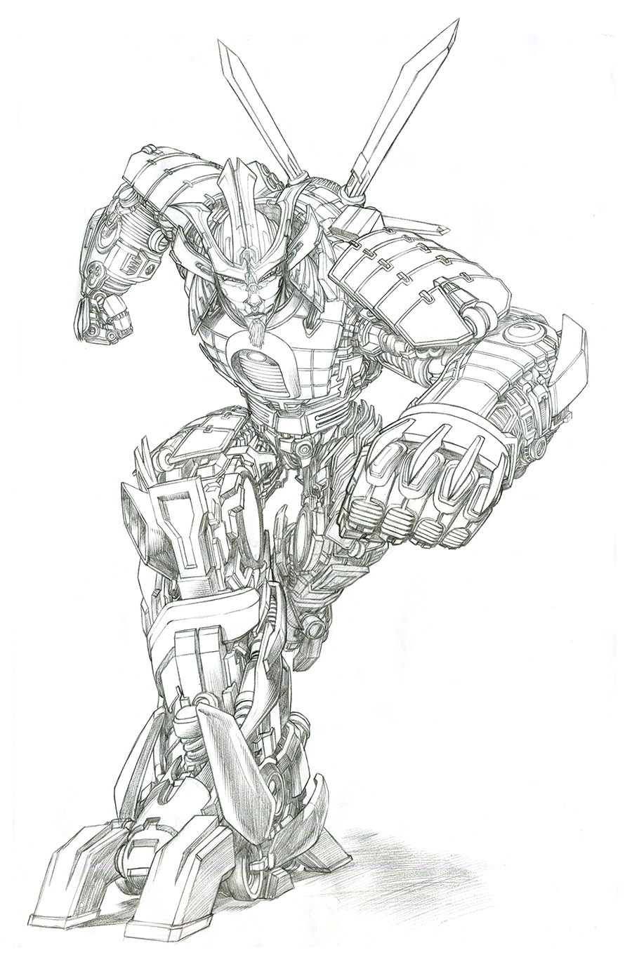 Transformers Age Of Extinction Gregory Titus Illustration
