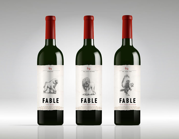 Fable wines gregory titus illustration for Jardin wine south africa