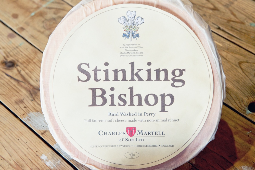 Stinking Bishop Cheese Label