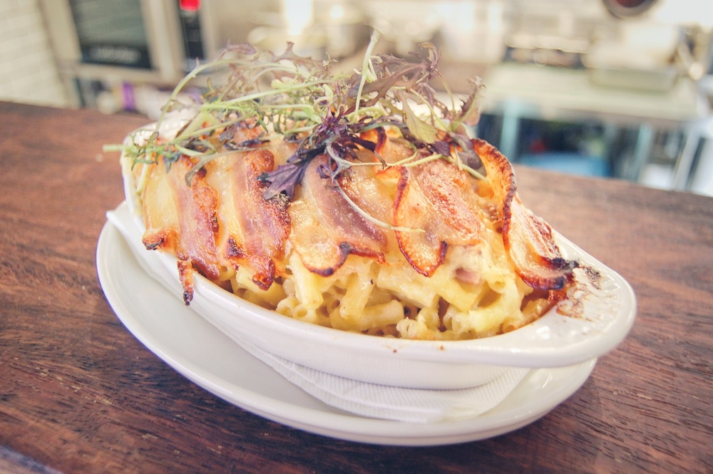 Mac N Cheese N Bacon ‪#‎Newtopia15‬