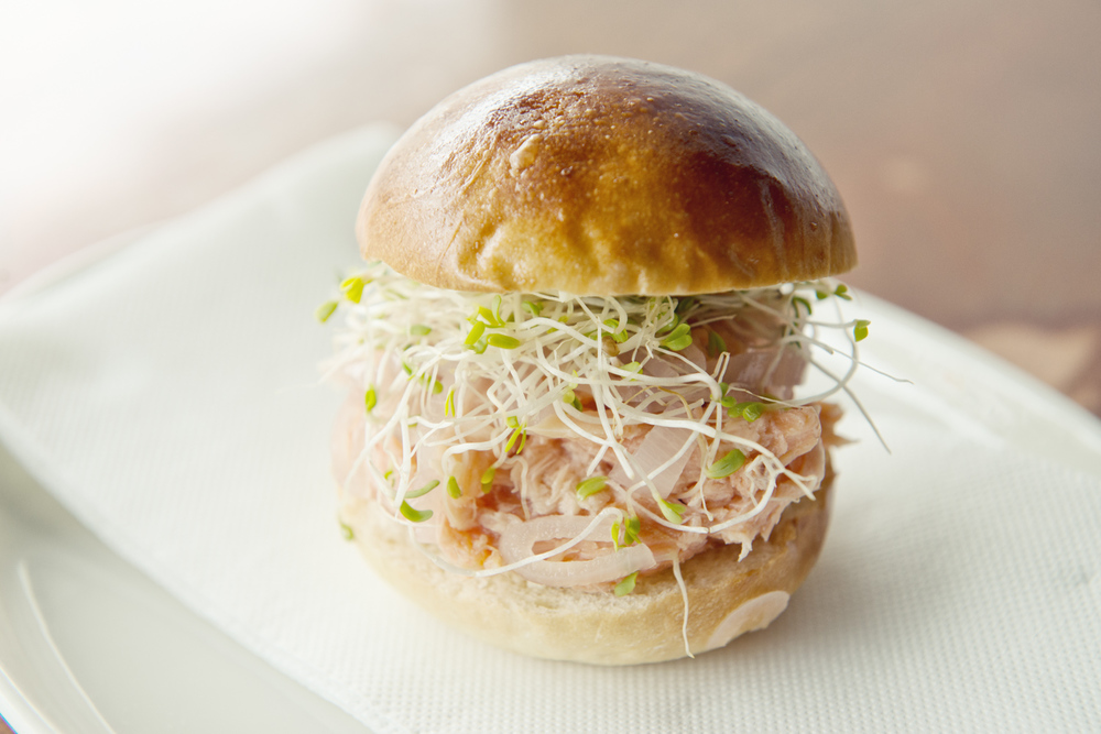 Smoked Trout Milk Bun