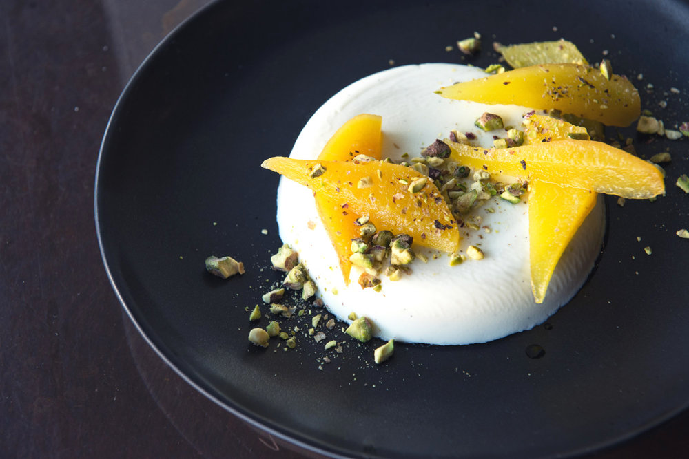 Sheep's Milk Yoghurt Panna Cotta
