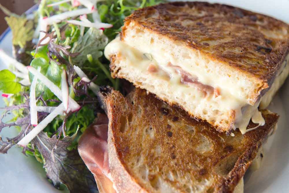 Croque Monsieur at The Stinking Bishops for Bastille Day 2017