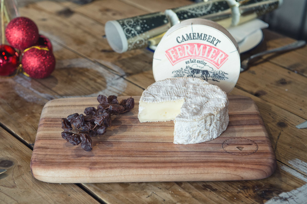 Camembert Fermier Get ready for it's Christmas Party