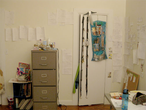 The storyboards have spread to my other wall!