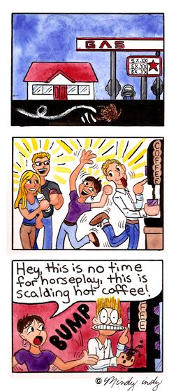 Custom Comic