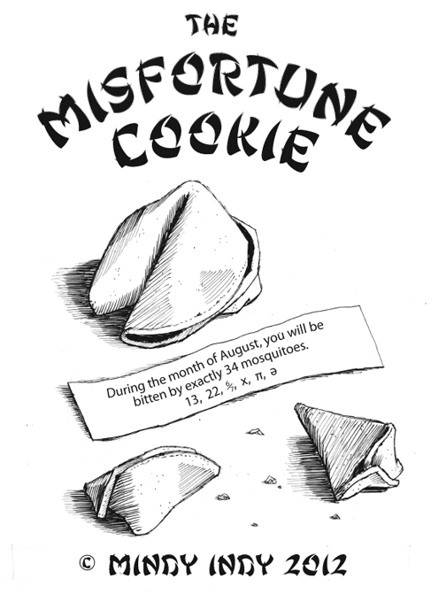 The Misfortune Cookie Cover