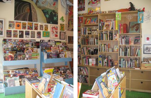 Desert Island Comics Interior