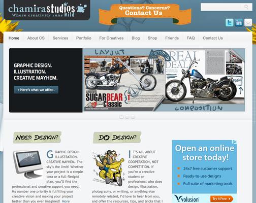 chamira studios Web