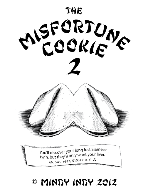 Misfortune Cookie 2 Cover
